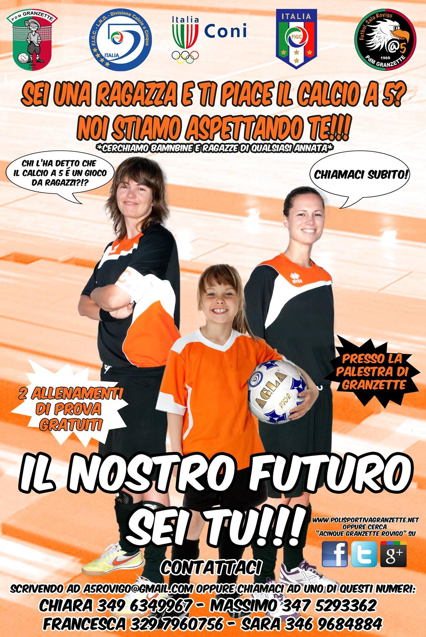 Granzette Calcio a 5